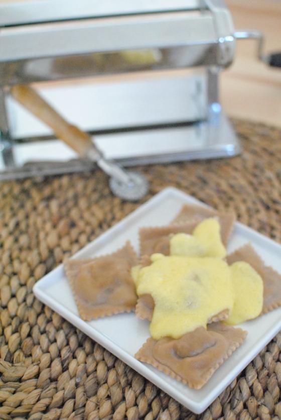ravioli castagne cotti