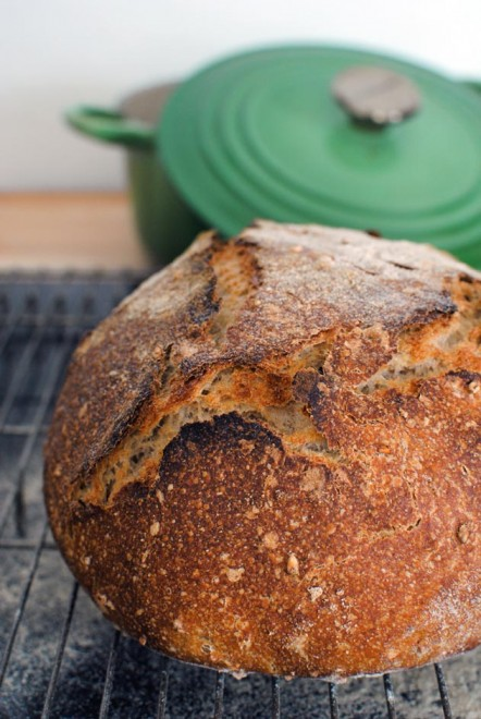 Rye and Oat bread