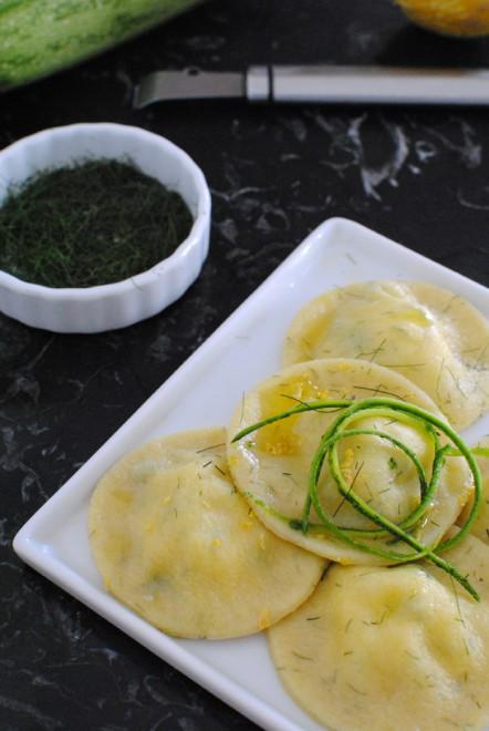 ravioli ricotta e zucchine 1