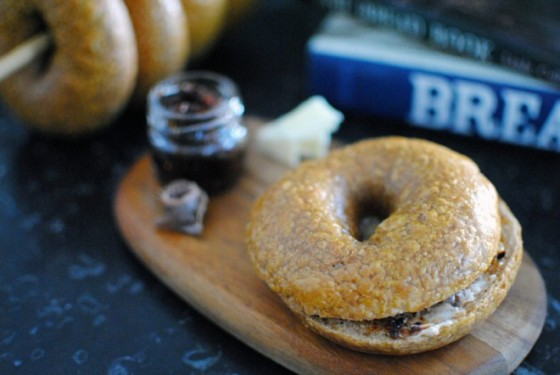 bagel liquirizia : liquorice bagel 1