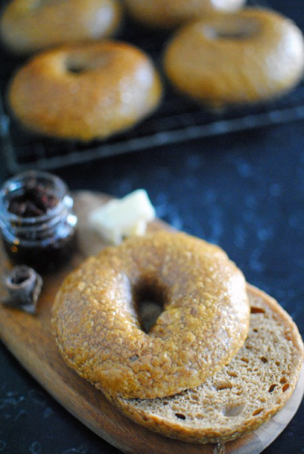 bagel liquirizia : liquorice bagel 2