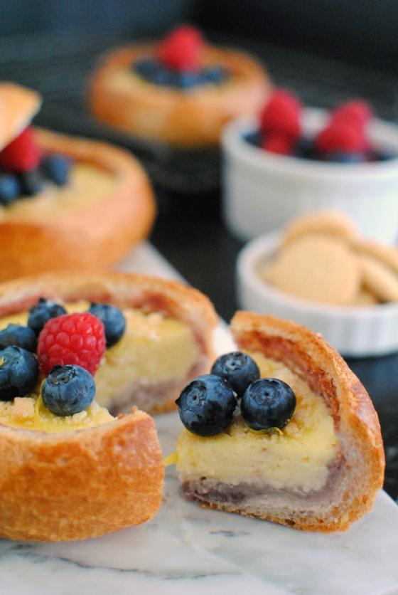 Cheesecake in a bun : Cheesecake a sorpresa...nel panino! 2