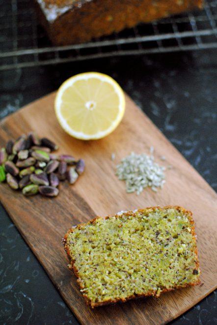 Torta di pistacchi limone e infuso di finocchio 2